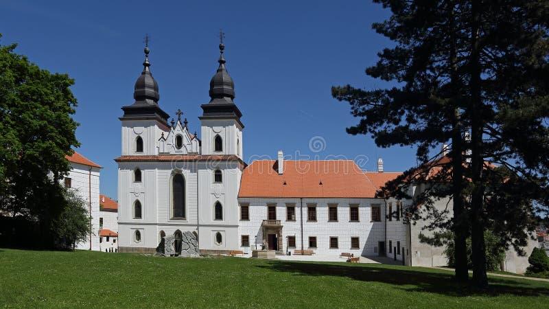 Basilique de St Procopius photo libre de droits