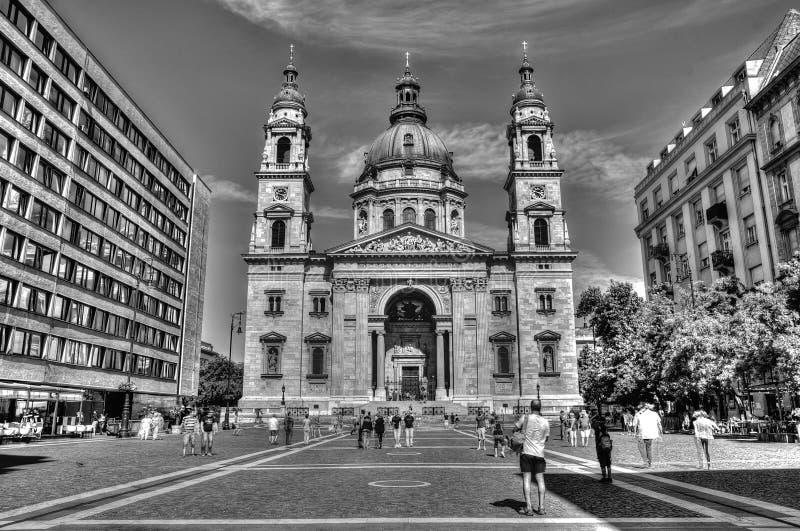 Basilique de St Stephans à Budapest image libre de droits