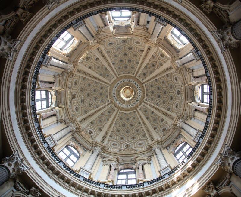 Basilique de Turin de Superga images stock
