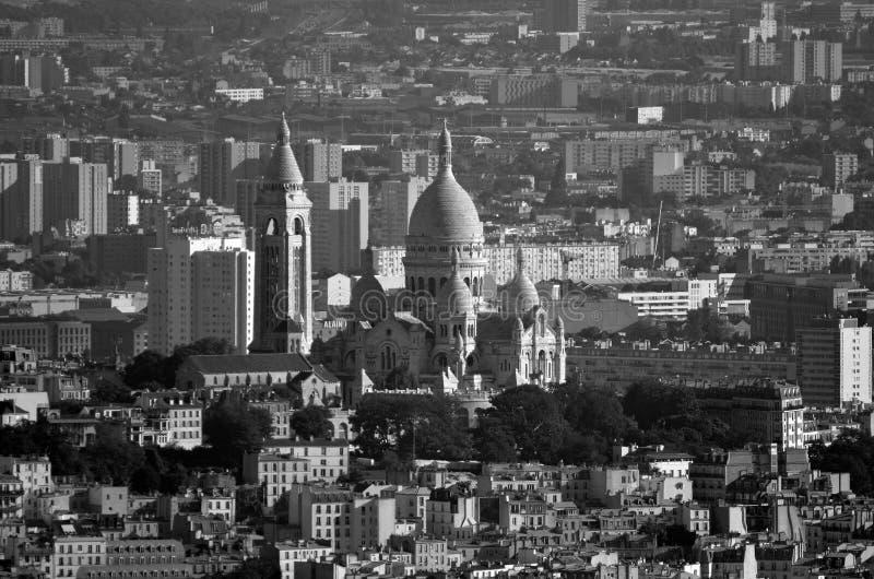 Basilique du coeur sacré de Paris image libre de droits