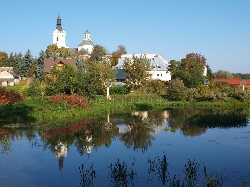 """Basilique du ` s de St Ann, """"de KodeÅ, Pologne images stock"""