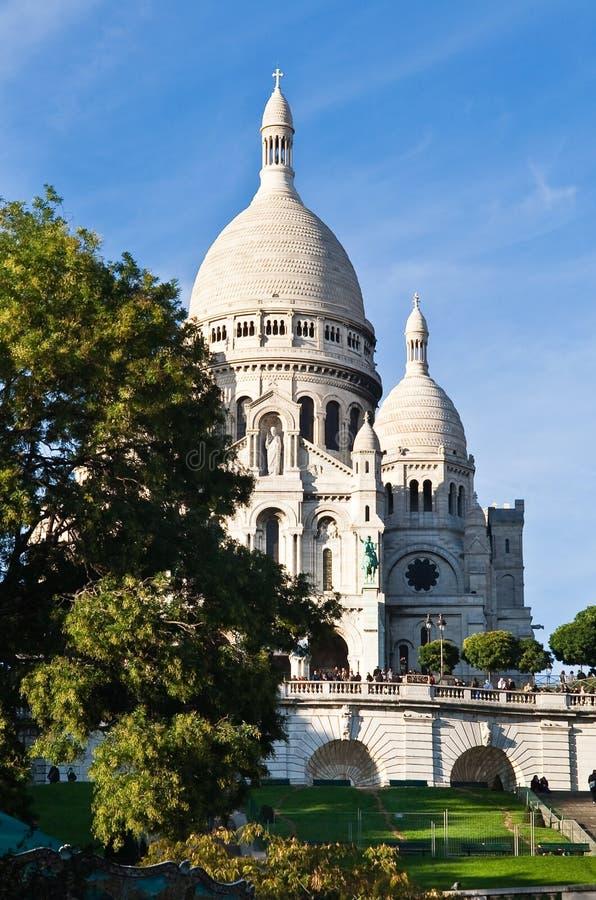 Basilique du Sacré CÅur. París imagen de archivo libre de regalías