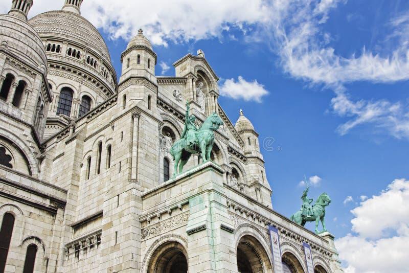 Basilique du Sacré-Cœur. France, Paris, Basilique du Sacré-Cœur stock photo