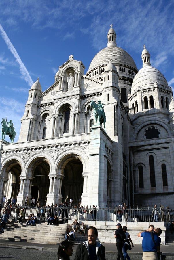 Basilique du Sacre Coeur imagen de archivo libre de regalías