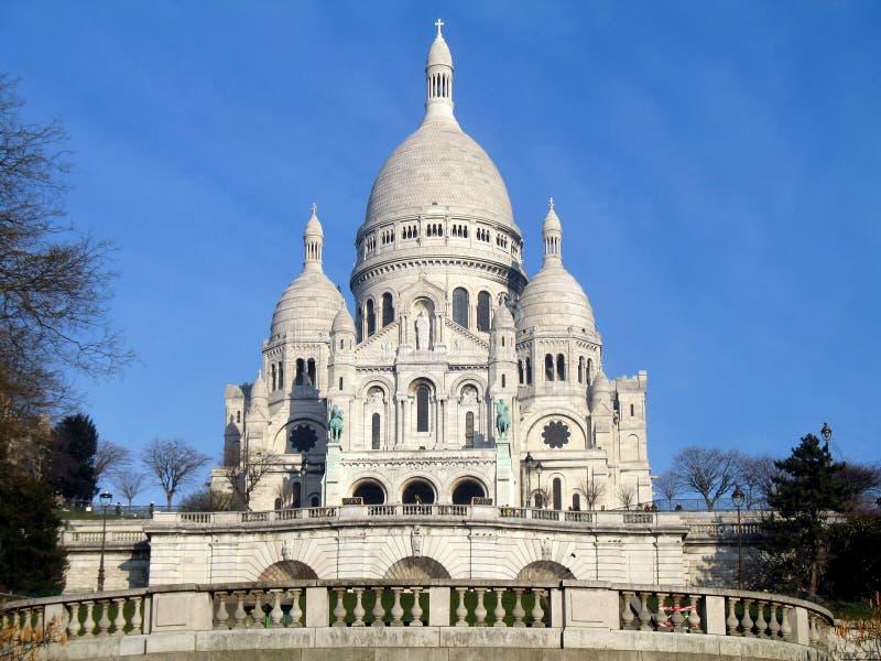Basilique du Sacre-Coeur imagen de archivo