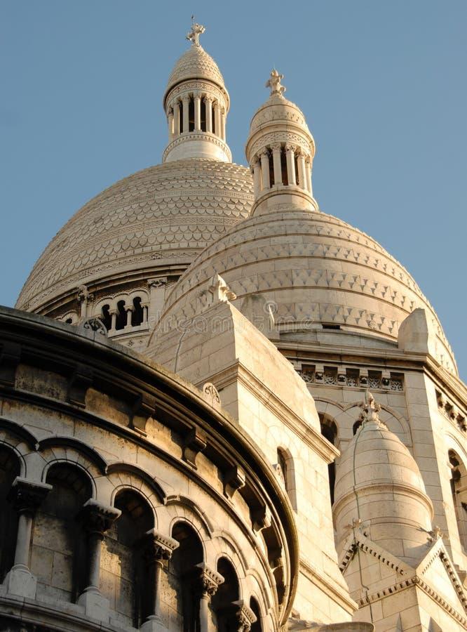 Basilique du Sacre Coeur, Montmartre fotografía de archivo