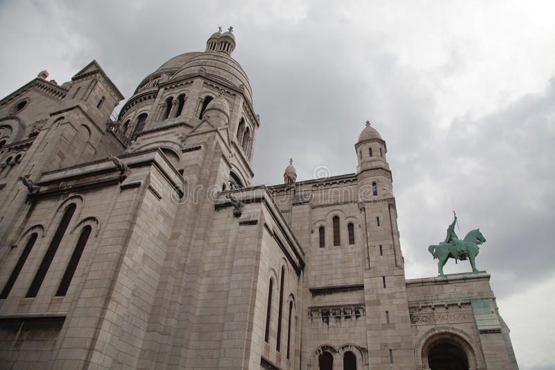 Basilique Du Sacre Coeur royalty free stock photography