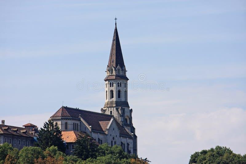 Basilique du Visitation, Annecy photos libres de droits