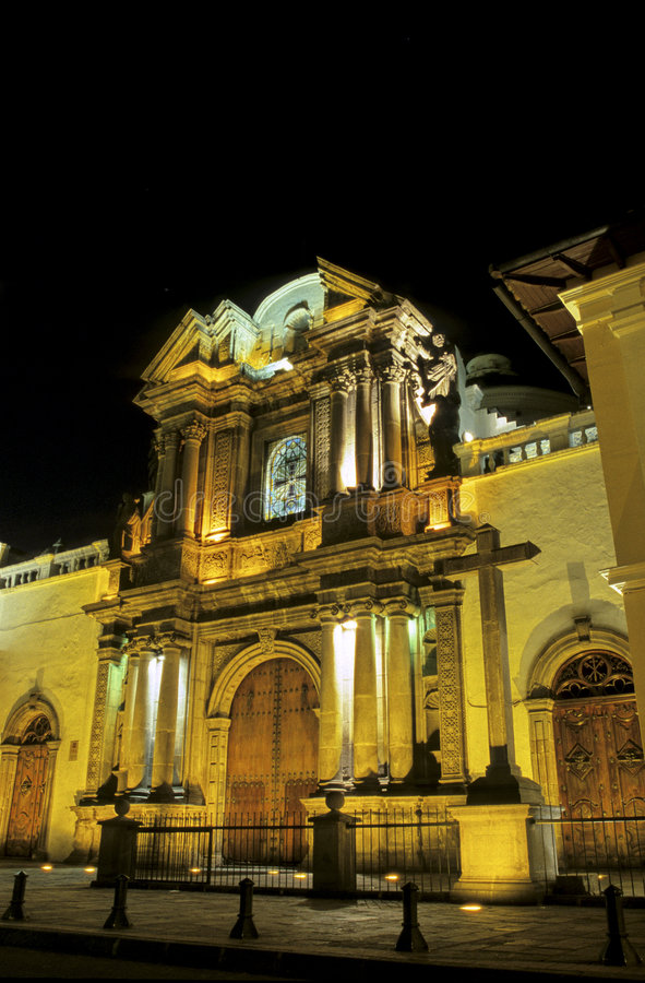 basilique Equateur images stock