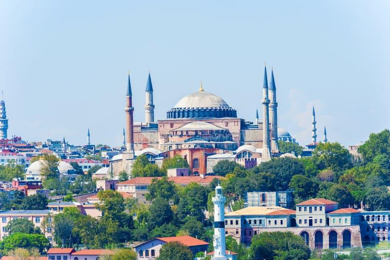 Basilique Hagia Sophia à Istanbul photographie stock libre de droits