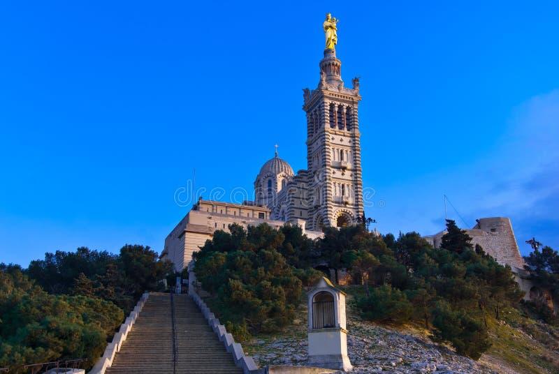 Notre-Dame-de-la-Garde stock photography