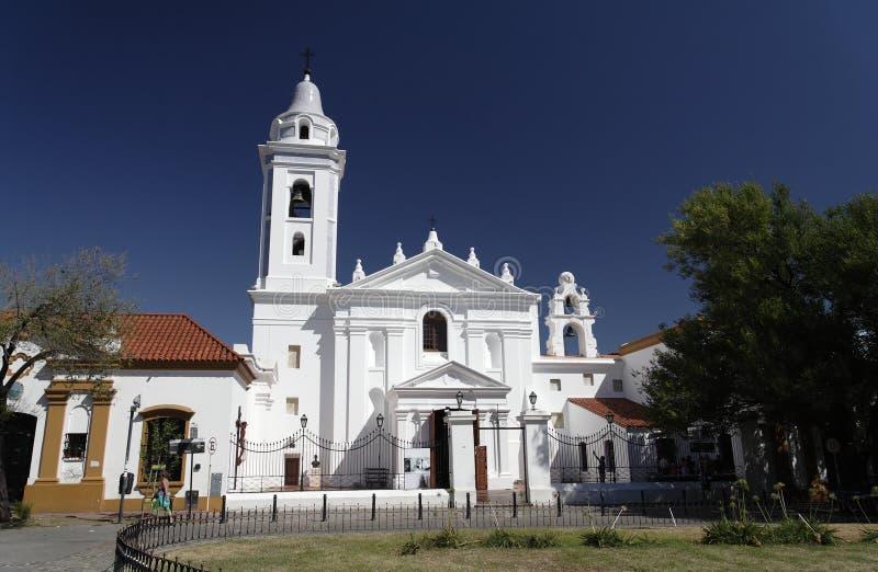 Basilique Nuestra Senhora del Pilar - Buenos Aires photos stock