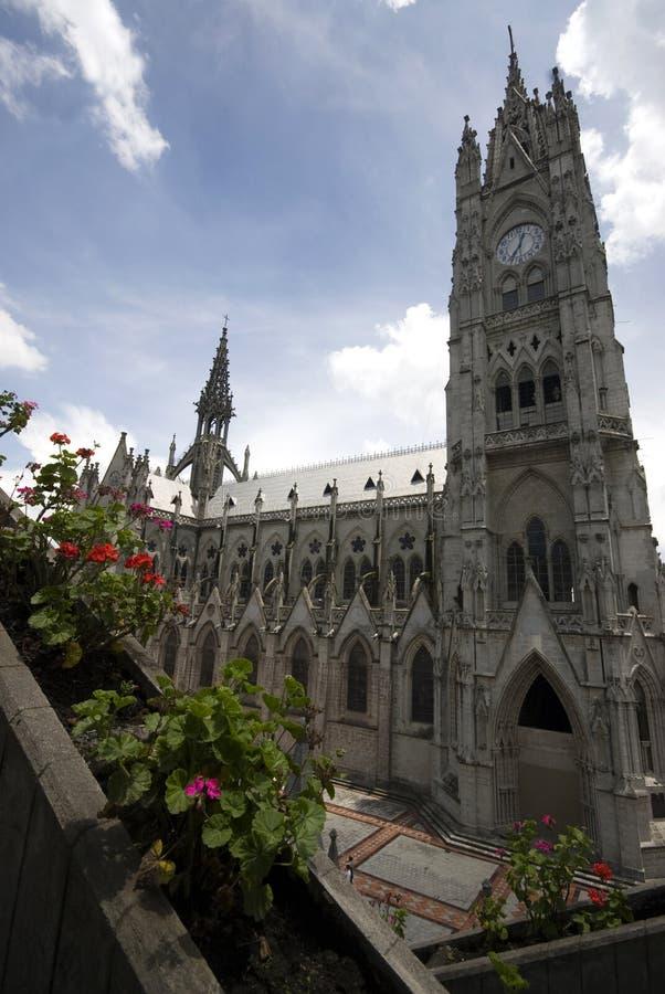 Basilique Quito Equateur photo libre de droits