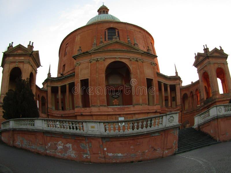Basilique of Saint Luke in Bologna Italy stock photos