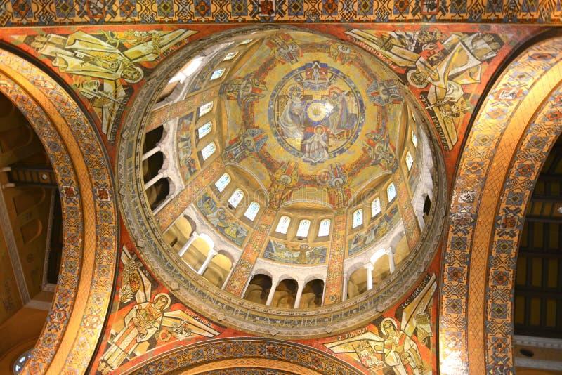 Basilique Sainte Thérèse àLisieux fotografia stock