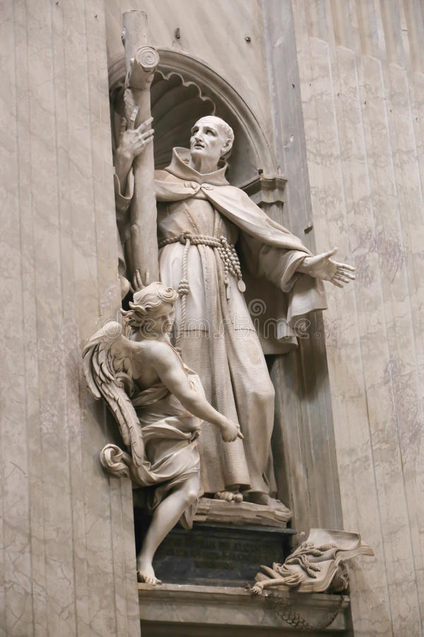 Basilique - Vatican, Italie photographie stock