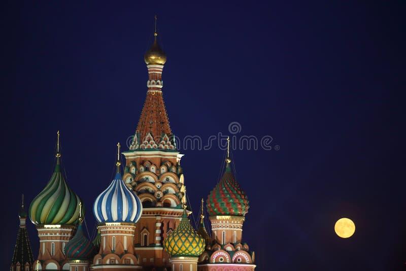 basilu katedralny Moscow st zdjęcie stock