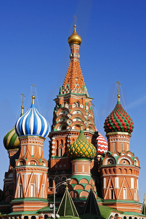 basilu katedry st zdjęcie royalty free