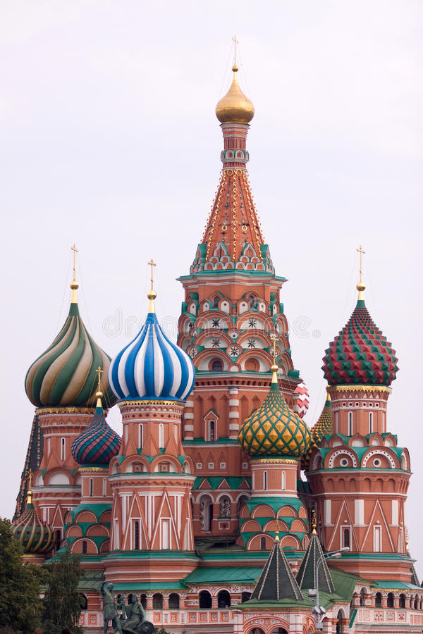 basilu Moscow święty obraz royalty free