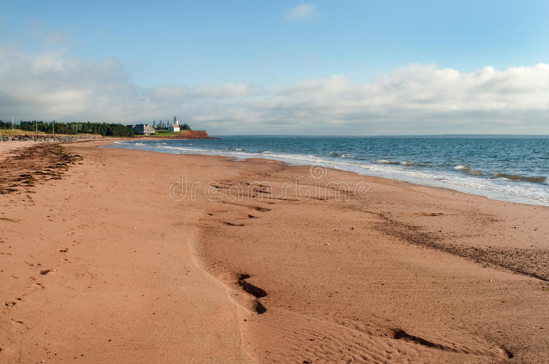 Basin Head, PEI royalty free stock photo