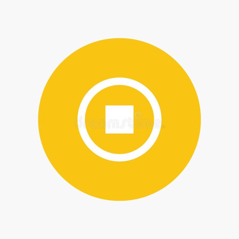Basis, Interface, Gebruiker royalty-vrije illustratie