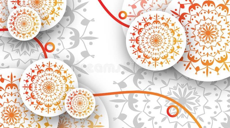 Basisillustratie voor advertenties! plaats een beeld van uw product vector illustratie