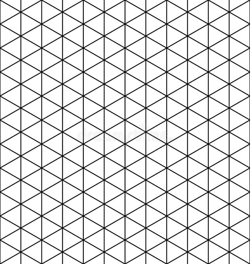 Basisnet Mitsukude voor patronen Kumiko Rebecca 36 vector illustratie