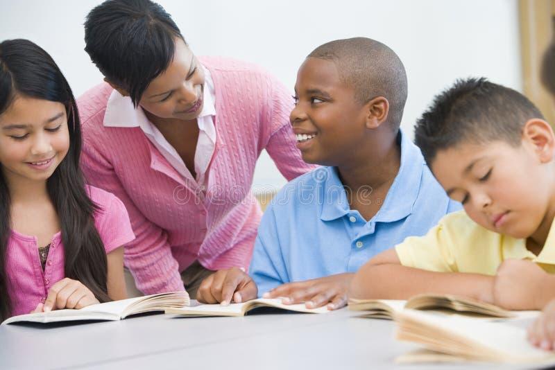 Basisschool clasroom royalty-vrije stock fotografie