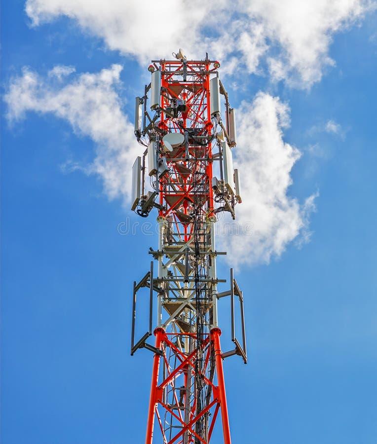 basisstation van cellulaire mededeling stock foto's