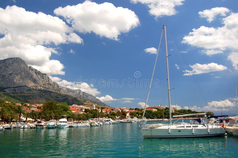 Baska Voda, Kroatië royalty-vrije stock foto
