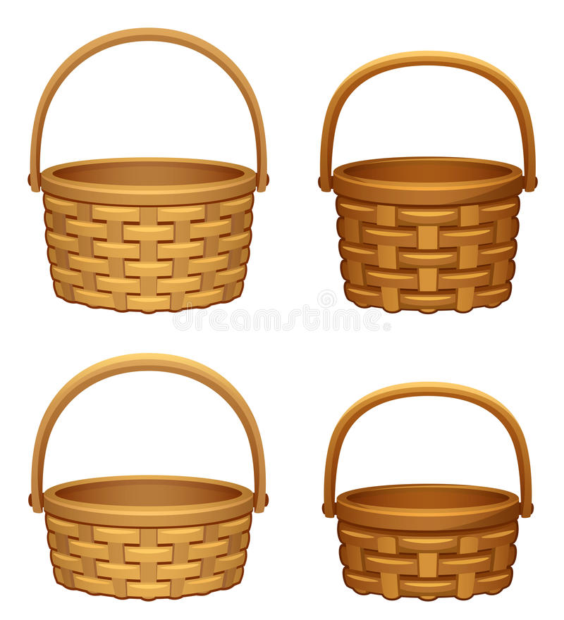 Download Basket stock vector. Image of handcrafted, picking, icon - 16146883