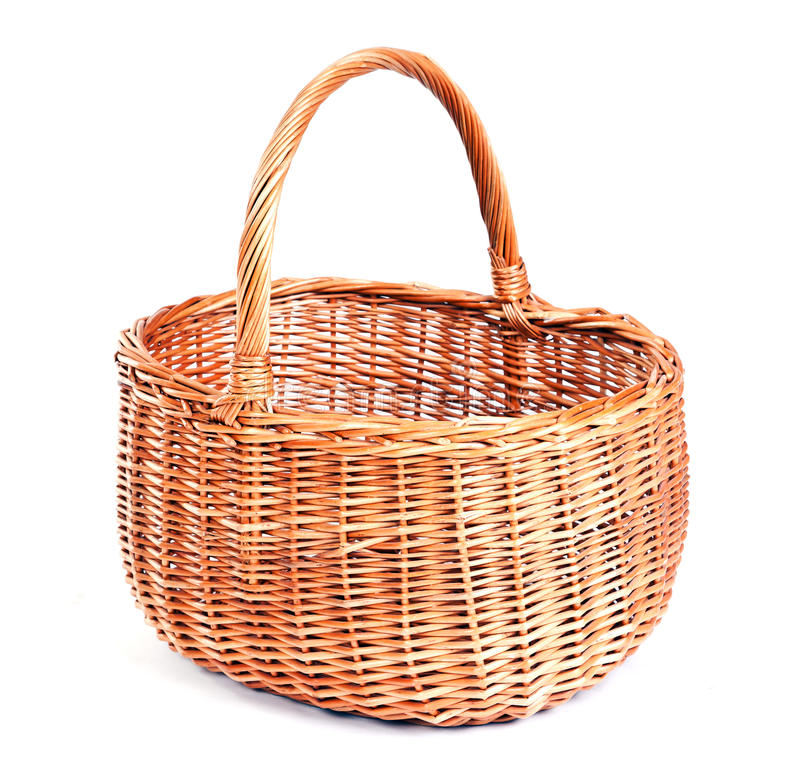 Basket. Isolated on white background