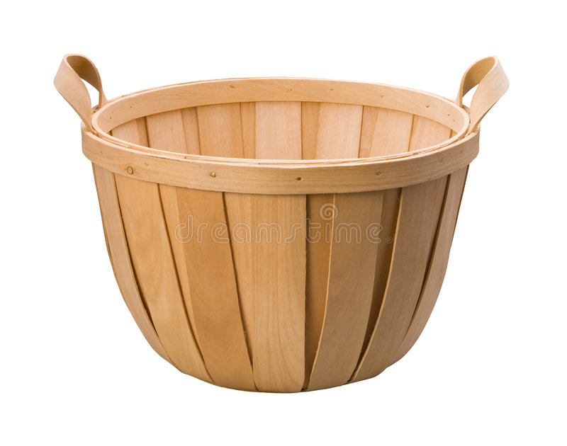 Basket. Isolated on a white background. Isolation is on a transparent layer in the PNG format royalty free stock photography