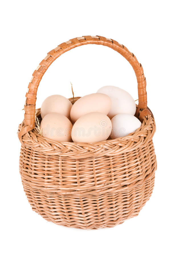 Free Basket And Eggs Stock Photos - 15615673