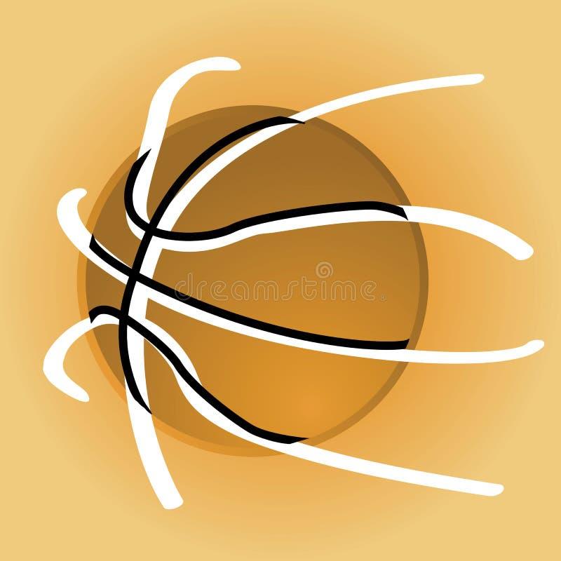 Basket-ball élégant illustration libre de droits