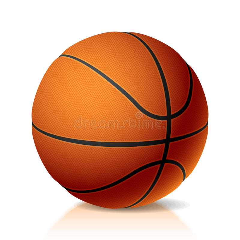 Download Basket ball stock vector. Image of isolated, leisure - 10759637