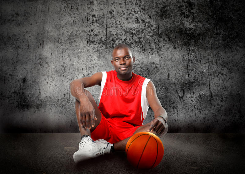 Basket-ball photo libre de droits