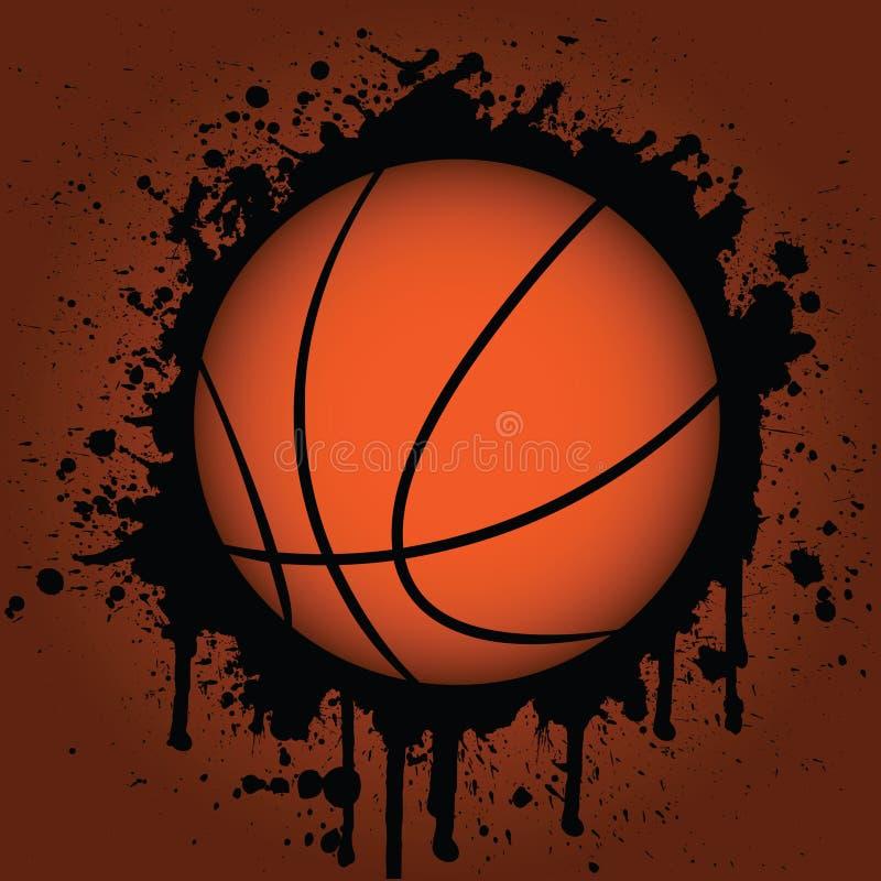 Basket-ball illustration stock