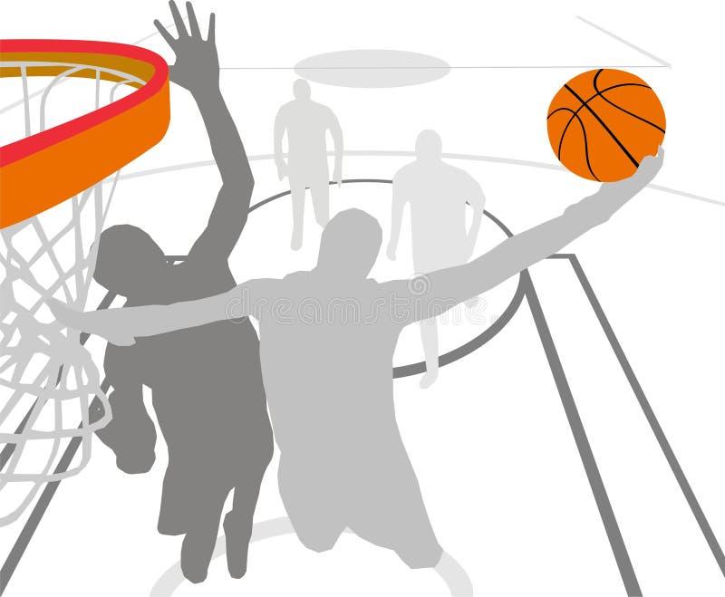Basket-ball illustration de vecteur