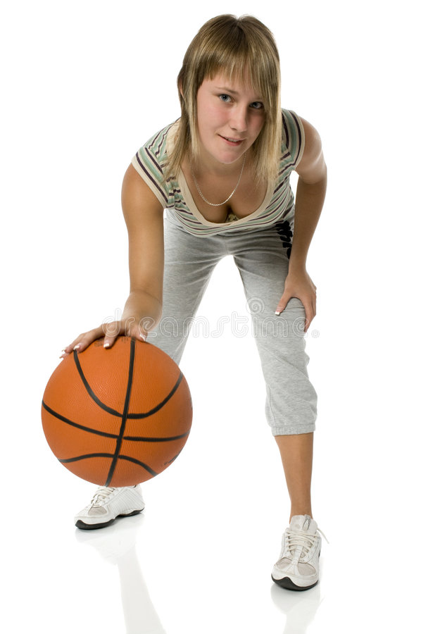 Download Basket-ball stock photo. Image of shoot, movement, bounce - 5915772