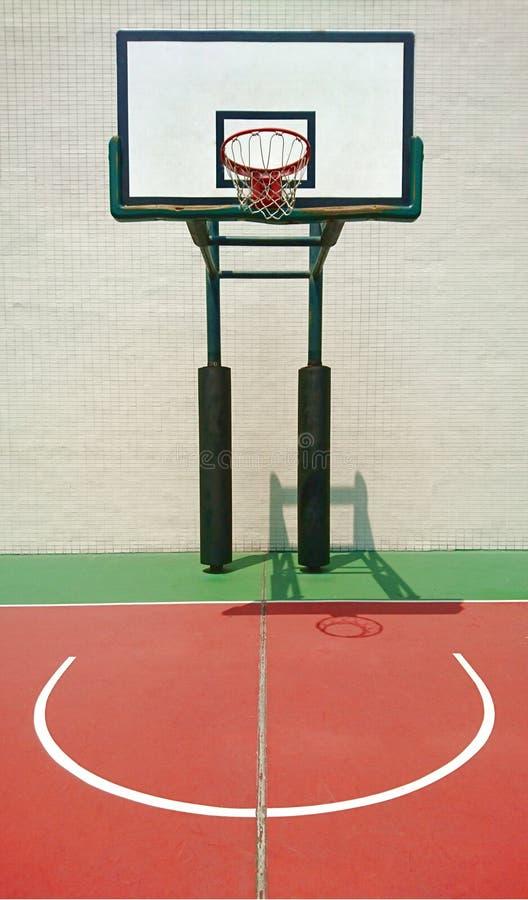 Basket-ball court photos stock