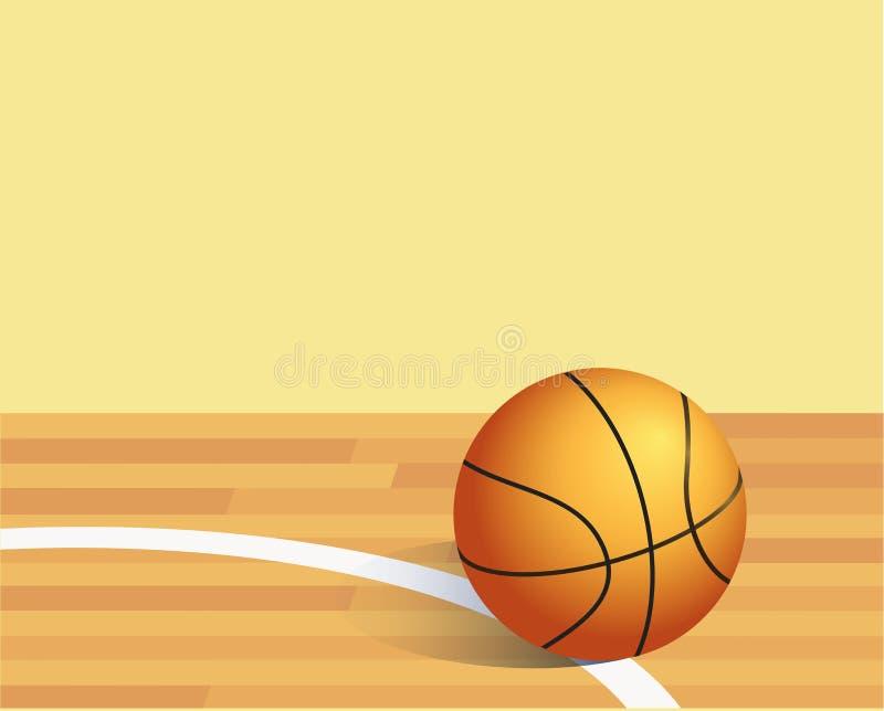 Basket ball royalty free illustration