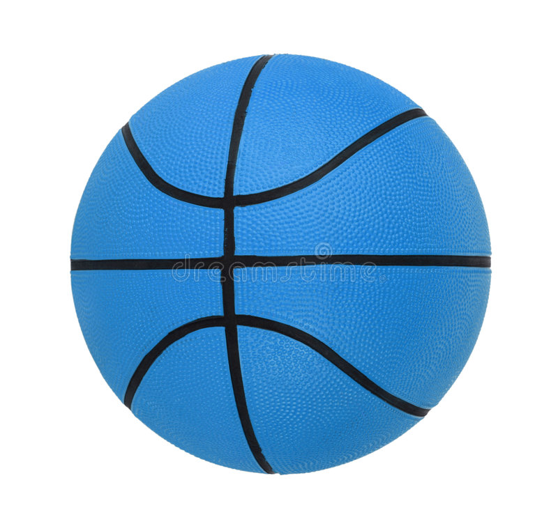Basket-ball d'isolement photo stock