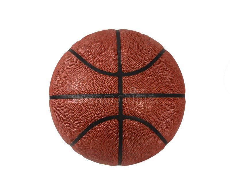 Basket-ball d'isolement sur le fond blanc photos libres de droits