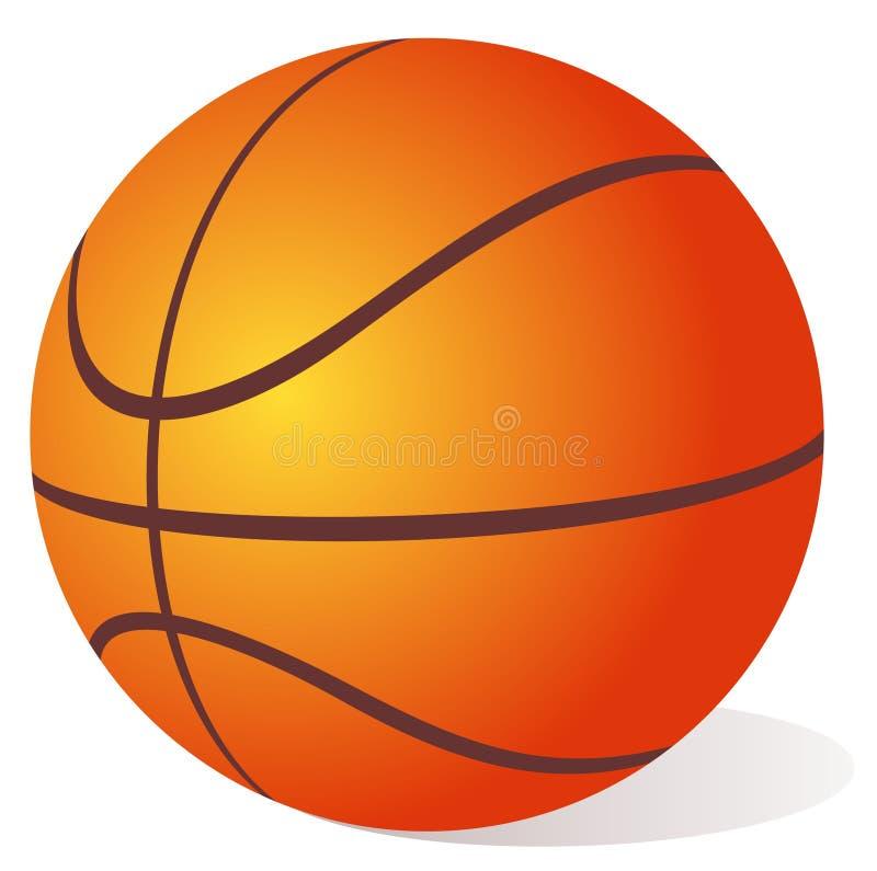 basket-ball de bille illustration de vecteur