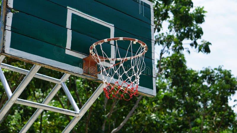 Basket-ball de cercle photo stock