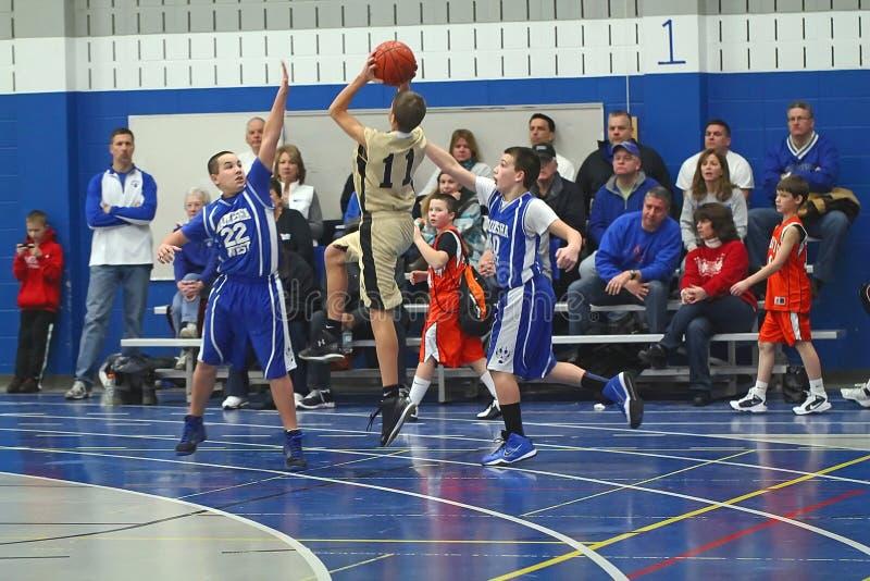 Basket-ball de club image stock