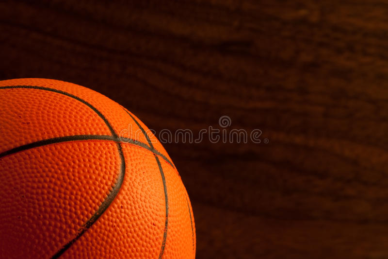 Basket-ball de jouet photo stock