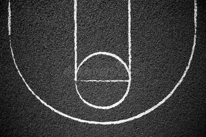 Basket-ball de rue photo libre de droits