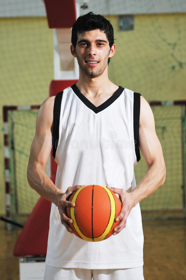 Download Basket Ball Game Player Portrait Stock Image - Image: 9782883